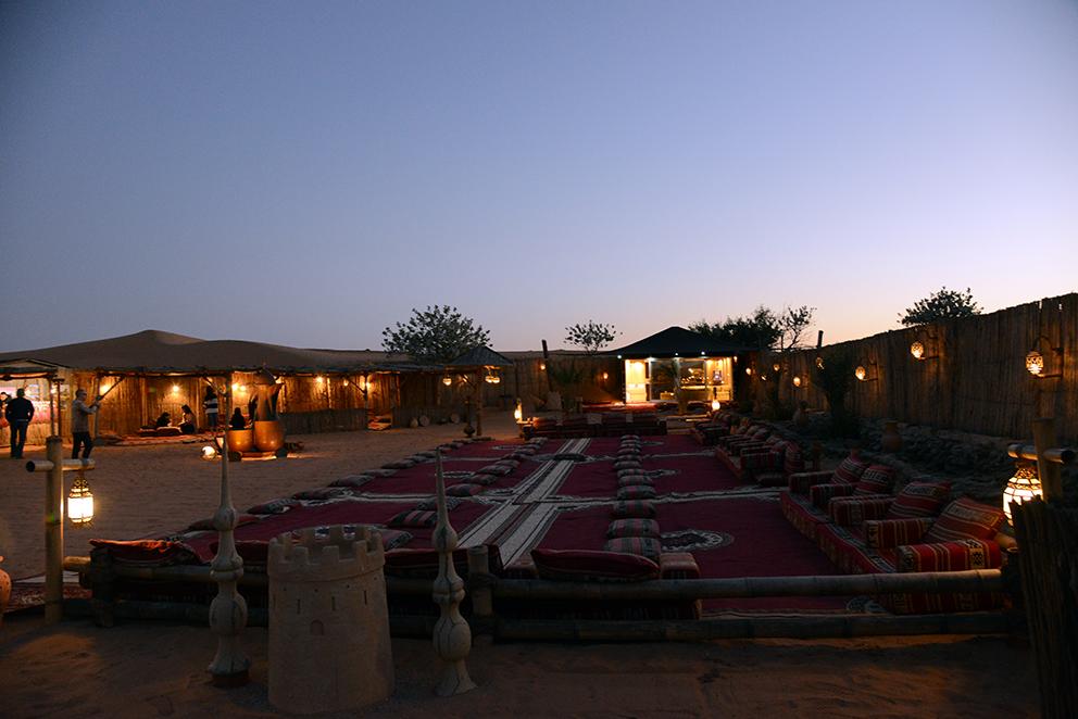 Beduin camp.