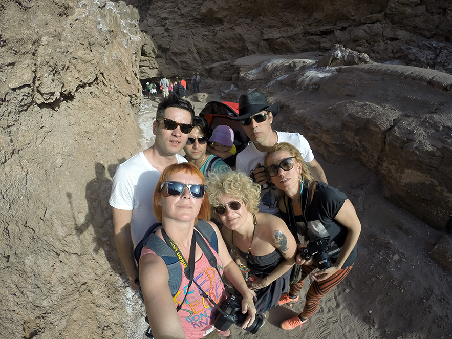 Selfie in the canyon.